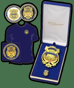 Commemorative items