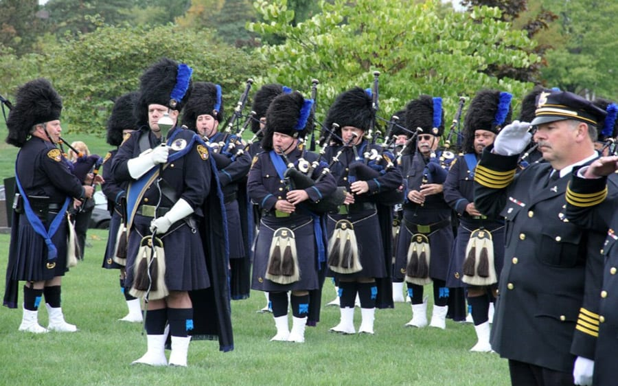 Cleveland Pipes Band