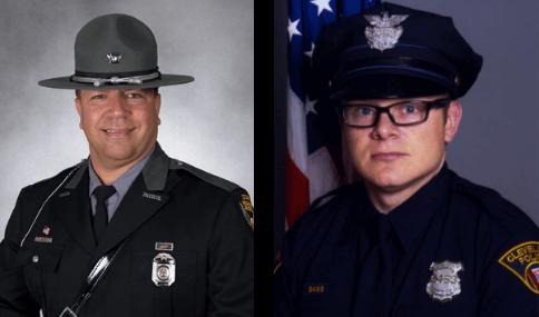 Trooper Kenneth Velez and PO David Fahey