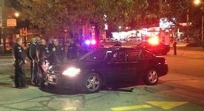 October 2014 - Cleveland police officer shot
