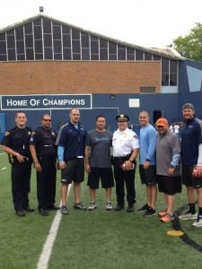 Thanks to 4th District Officer Coleman and Sgt. Wes Edrington for joining us at the camp.