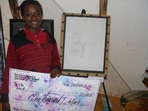 Malachi Reynolds  (winner 17 years & under/ drawing)