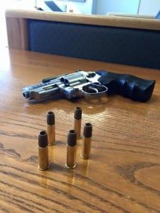 Airsoft gun with orange tip removed (Source: North Ridgeville Police Department)