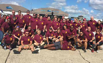 Plane Pull Team Helps Special Olympics