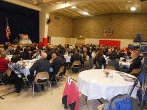 A fine crowd was on hand to honor citizens and police officers at the Second District Awards Ceremony.