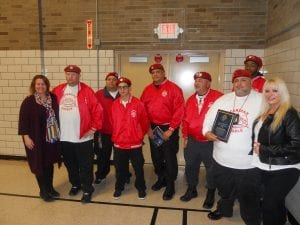 The Guardian Angels were also recognized by The Cleveland Police Foundation for their service to the 2nd District Community.