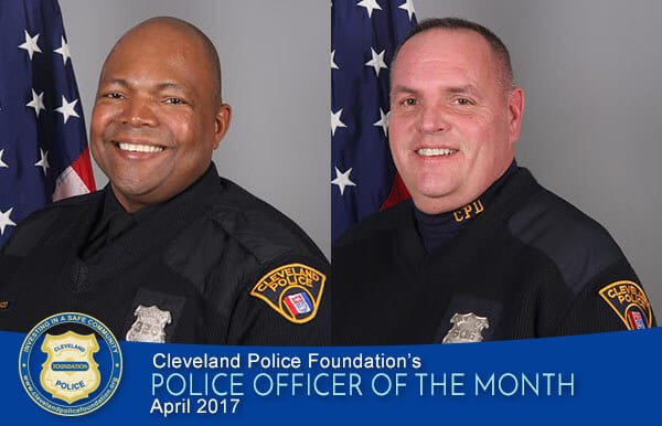 Patrol Officers Christopher Eaton and Michael Ryan