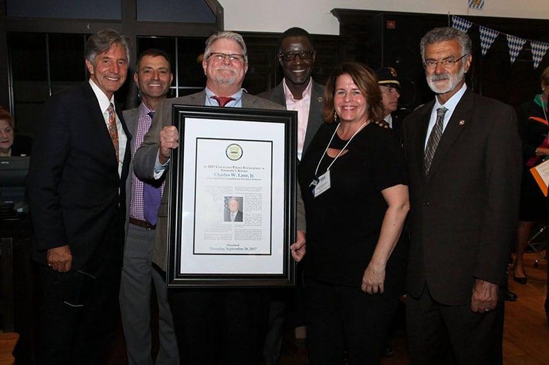 Founder's Award Chas Lane