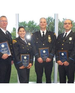 Fourth District Detectives Recognized in 2017