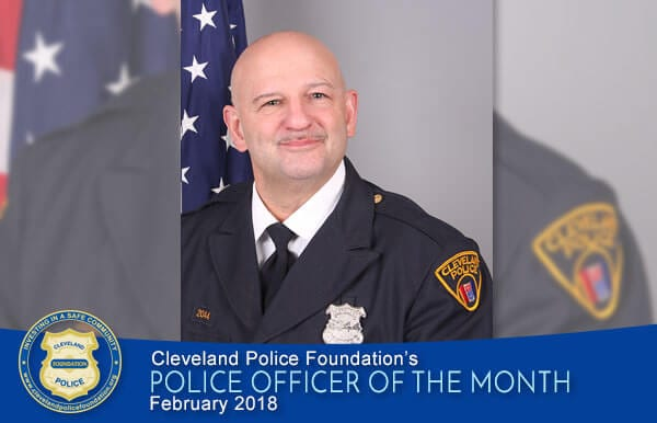 Police Officer of the Month Jan 2018 - Joseph Haggerty