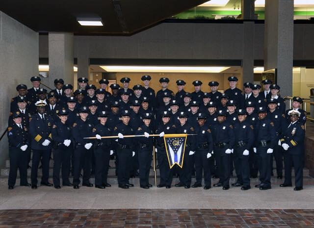 Graduating officers