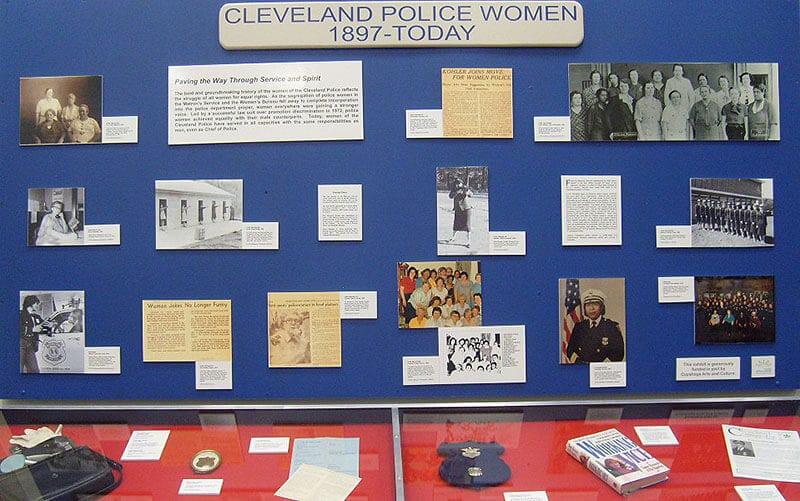 police museum exhibit
