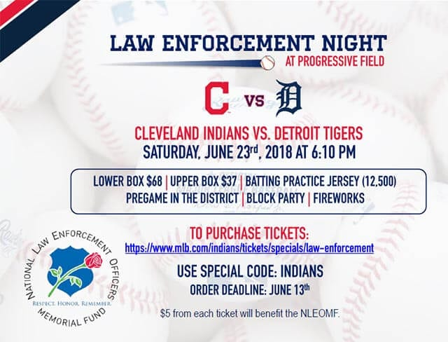 Cavs Law Enforcement Night