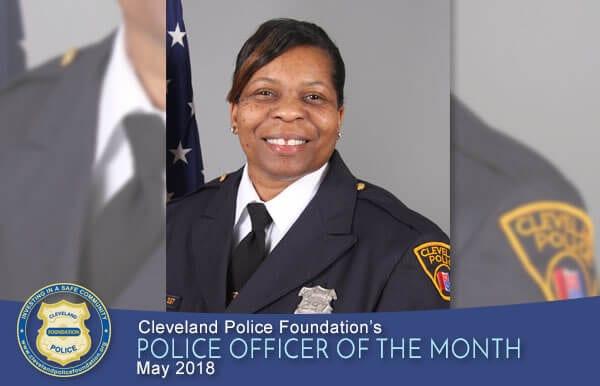 May 2018 POM - Patrol Officer Sharon Davis