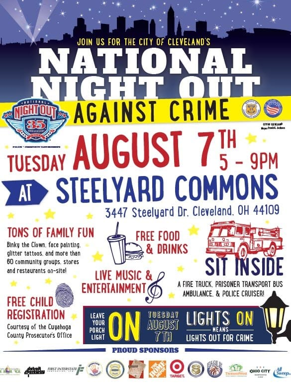National Night Out Against Crime August 2018