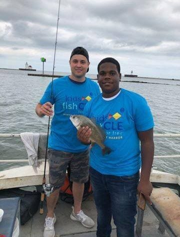 Kids Fish Cle 2018 outing
