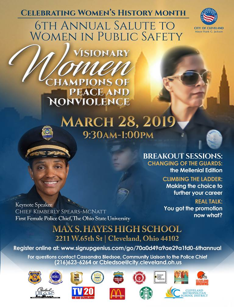 6th Annual Salute to Women in Public Safety March 28, 2019