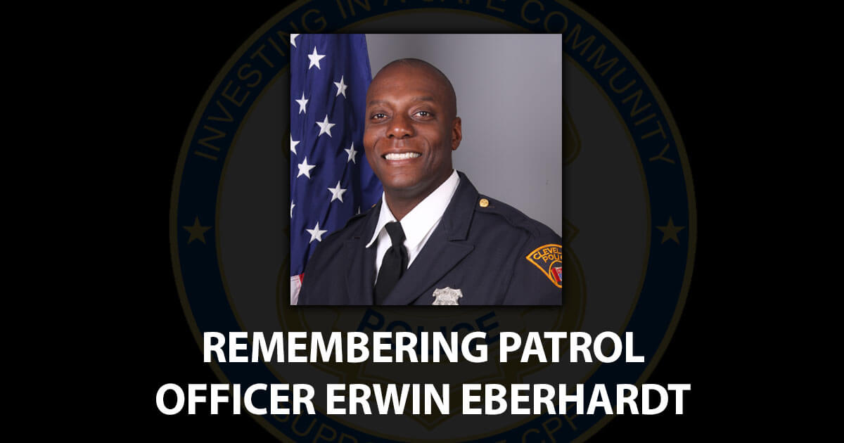 Officer Erwin Eberhardt Obit